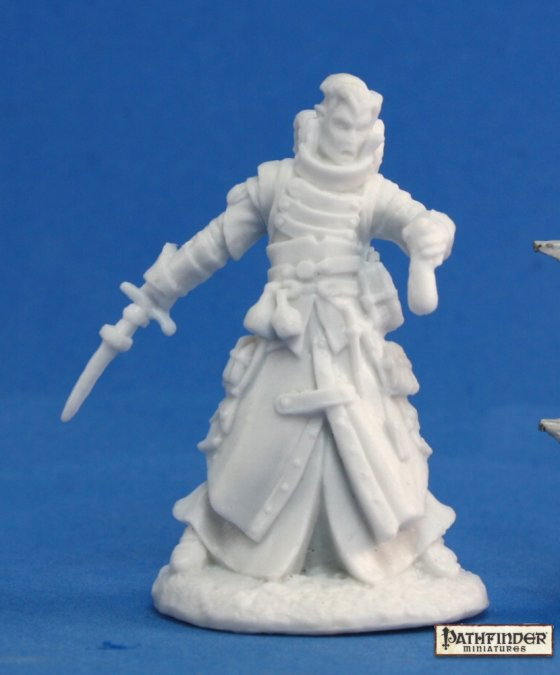Reaper Miniatures Pathfinder Damiel, Iconic Alchemist 89010