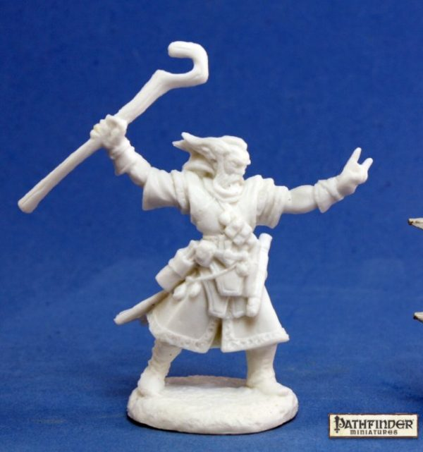 Reaper Miniatures Pathfinder Ezren, Iconic Wizard 89013
