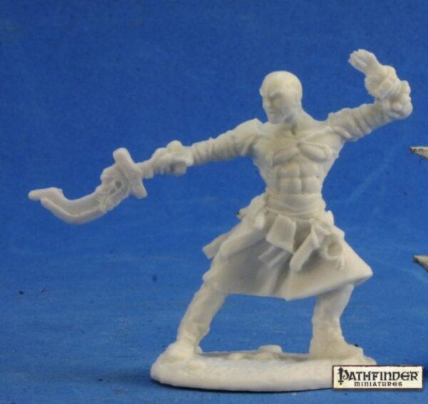 Reaper Miniatures Pathfinder Sajan, Iconic Monk 89018