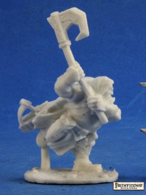 Reaper Miniatures Pathfinder Harsk, Iconic Dwarf Ranger 89020