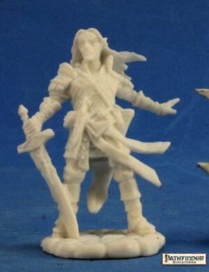 Reaper Miniatures Pathfinder Arael, Half Elf Cleric 89028