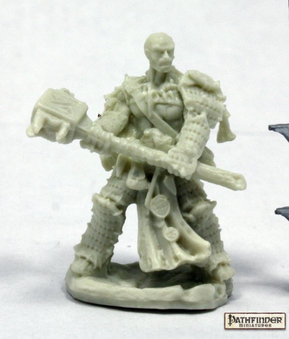 Reaper Miniatures Pathfinder Crowe, Iconic Bloodrager 89034