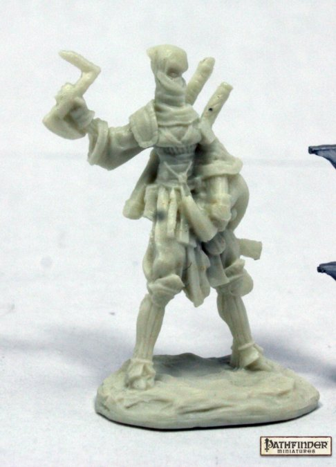 Reaper Miniatures Pathfinder Reiko, Iconic Ninja 89036