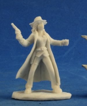Reaper Miniatures Savage Worlds Texas Ranger Female 91004