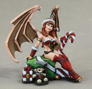 Reaper Miniatures 2009 Christmas Sophie 01426