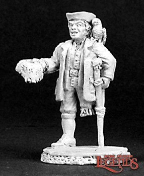 Reaper Miniatures Peg Leg Pete, Pirate Cook 03152