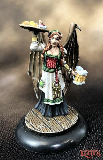 Reaper Miniaturen Innkeeper Sophie 03886