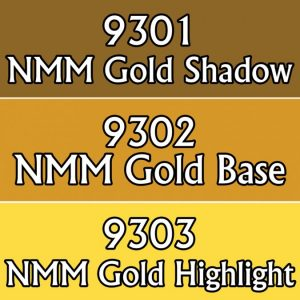 MSP Core Colors Triad: NMM Gold Colors (09301-09303)