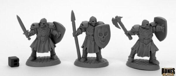 Reaper miniatures Maggotcrown Men at Arms (3) 44034