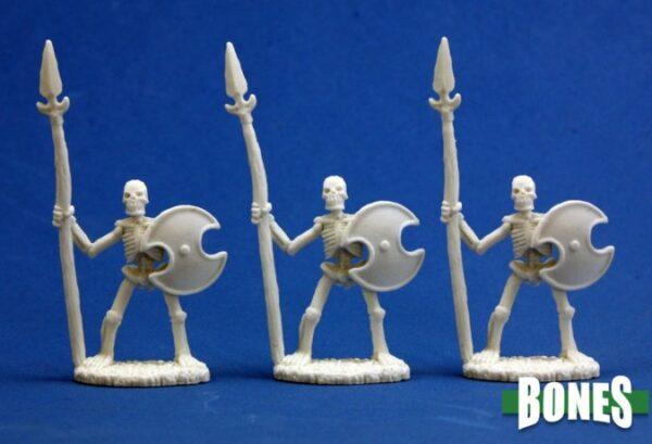 Reaper Miniatures Skeletal Spearmen (3) 77001