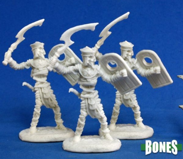 Reaper Miniatures Mummy Warrior (3) 77146