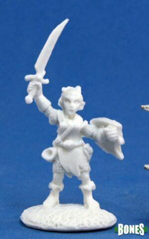 Reaper Miniatures Elliwyn Heatherlark, Gnome Bard 77164