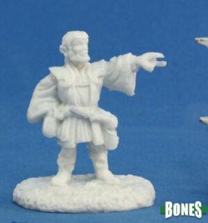 Reaper Miniatures Balto Burrowell, Gnome Wizard 77166