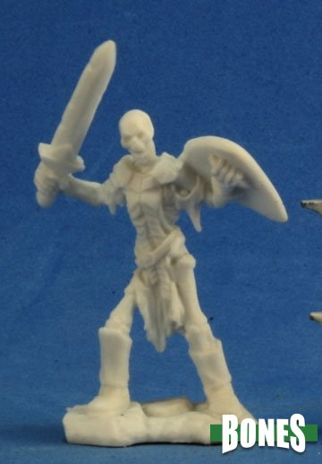 Reaper Miniatures Skeleton Guardian Sword (3) 77240