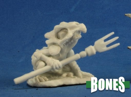 Reaper Miniatures Mudcroak, Squog Shaman 77269