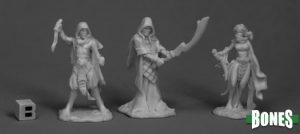 Reaper miniaturen Cultists (3) 77517