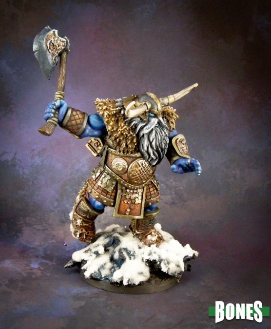 Reaper Miniatures Frost Giant Warrior (1H Axe) 77543
