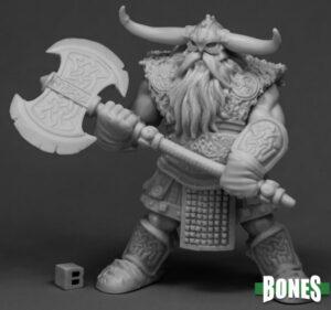 Reaper Miniatures Frost Giant Bodyguard (2H Axe) 77544