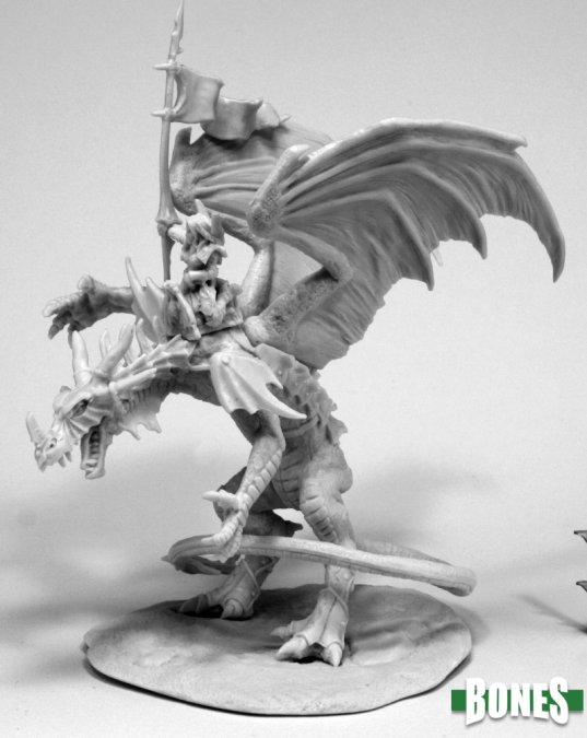 Reaper Miniatures Kyra & Lavarath (Dragon and Rider) 77557