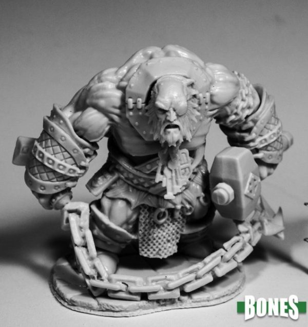 Reaper Miniatures Bluferg, Fire Giant Jailor 77593