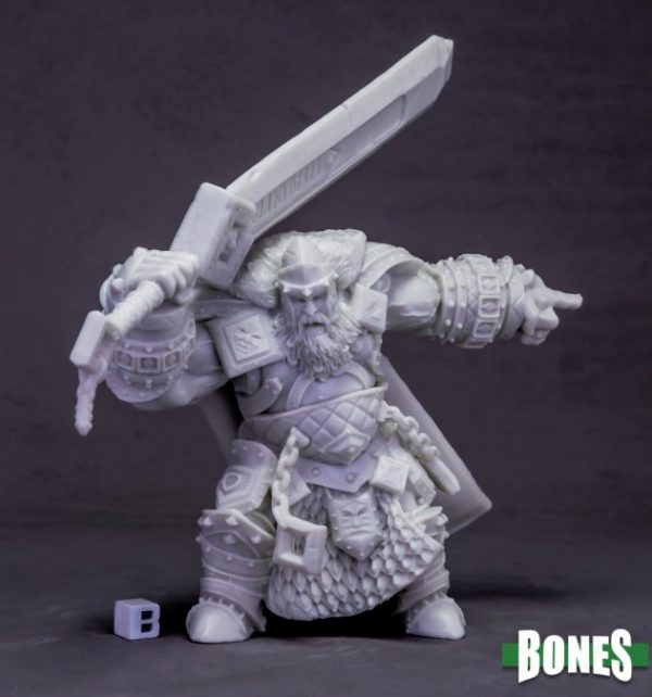 Reaper Miniatures Skorg Ironskull, Fire Giant King (Huge) 77614