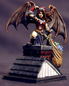 Reaper Miniatures 2002 Christmas Sophie 01404