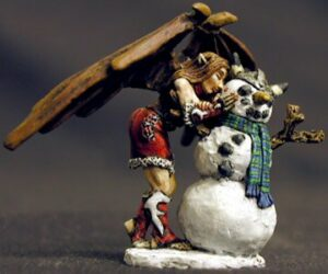 Reaper Miniatures 2001 Christmas Sophie 01405