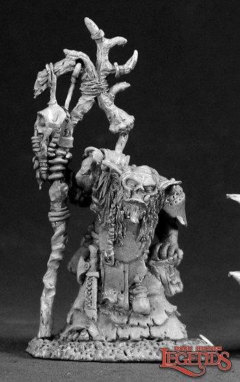 Reaper Miniatures Surkar, Orc Shaman 03043