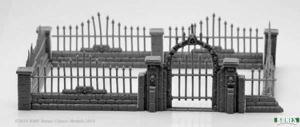 Reaper Miniatures Harrowgate Graveyard Set 77529