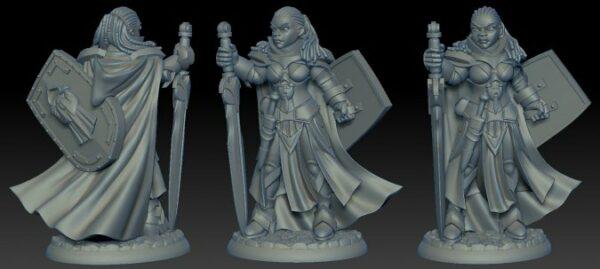 Reaper Miniatures Jada Twinsuns Female Paladin 04014