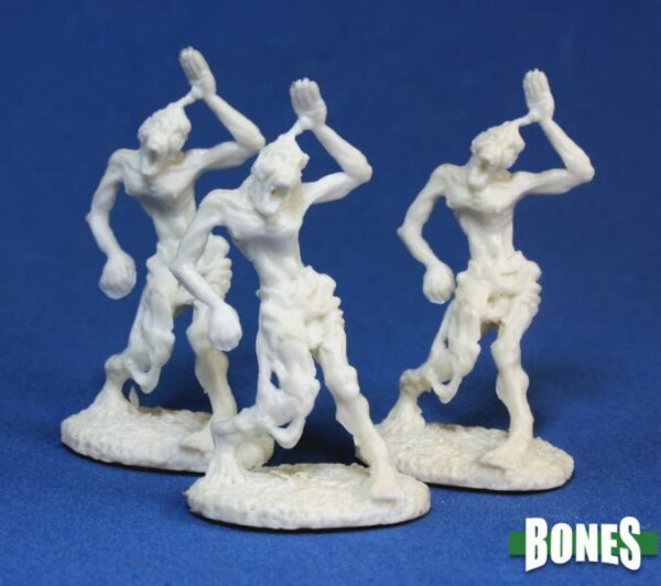 Reaper Miniatures Zombies (3) 77014
