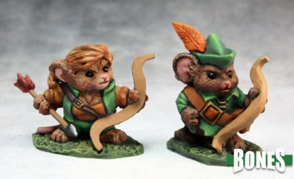 Reaper Miniatures Mousling Ranger and Yeoman 77289