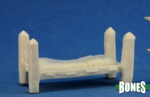 Reaper Miniatures Tavern Items: Bed 77317