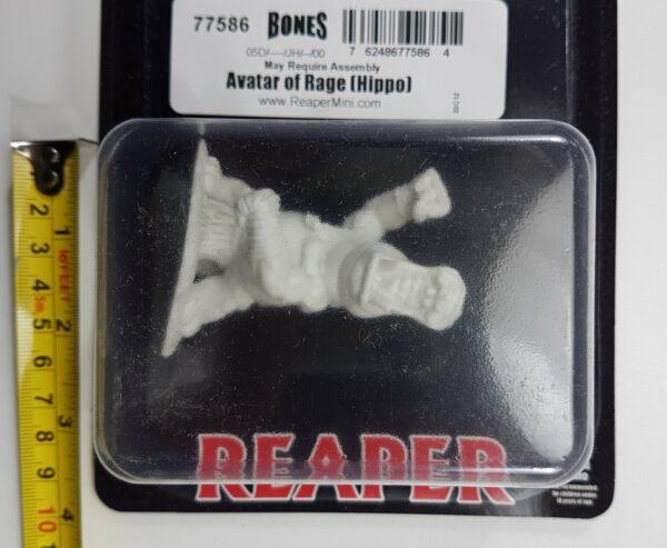 Reaper Miniatures Avatar of Rage (Hippo) 77586