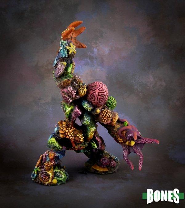 Reaper Miniatures Coral Golem 77628 Aquatic