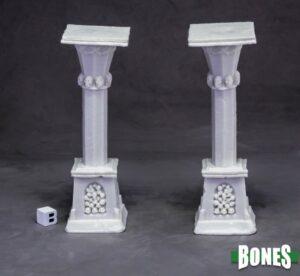 Reaper Miniatures Graveyard Column (x2) 77638