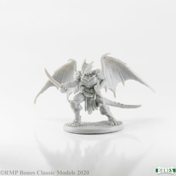 Reaper Miniatures Tazythas, Dragonfolk Rogue 77656