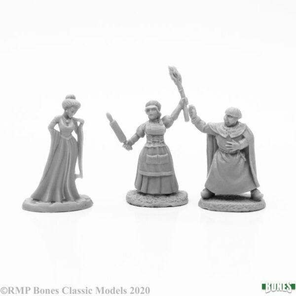 Reaper Miniatures Townsfolk II (3) 77666