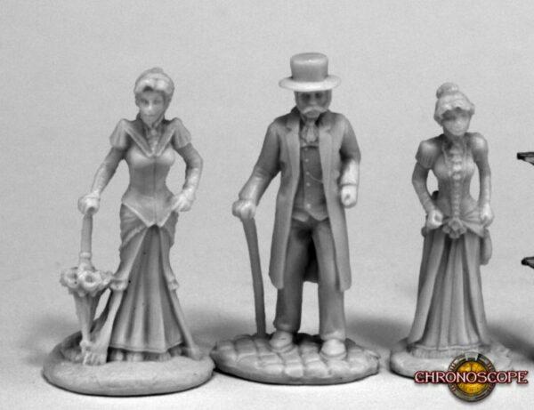 Reaper Miniatures Victorians (3) 80068