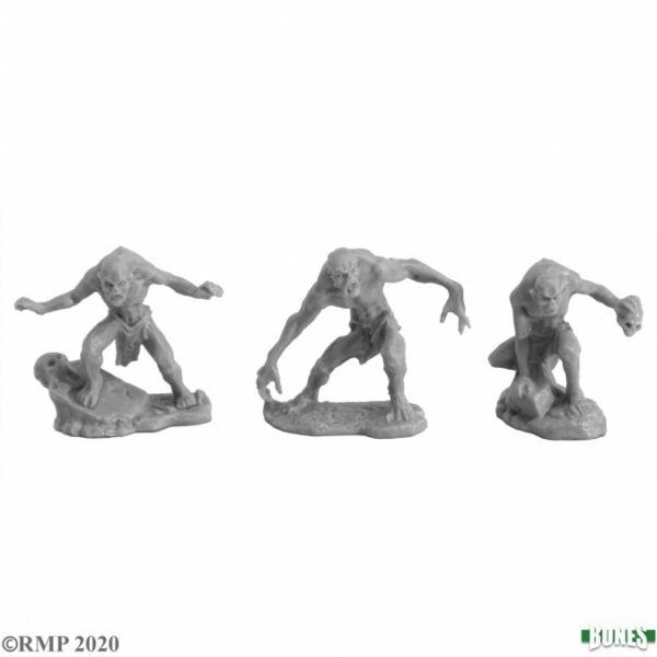 Reaper Miniatures Ghouls (2) and Ghast 77720