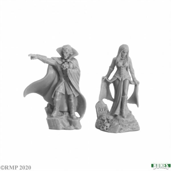 Reaper Miniatures Vampire Bloodlords (2) 77727