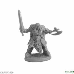 Reaper Miniatures Ankoa, Barbarian Hero 77736