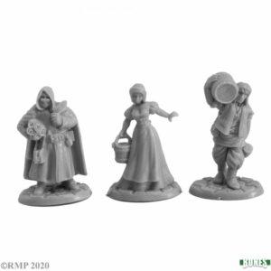 Reaper Miniatures Townsfolk III (3) 77737