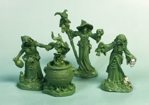 Witch Coven (3)and Cauldron 04030 (metal)