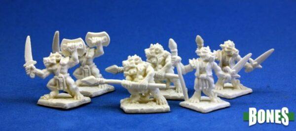 Reaper Miniatures Kobolds (6) 77010