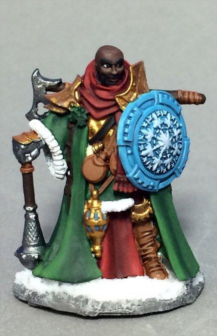 Sir Ulther, Christmas Knight 01579 (metal)