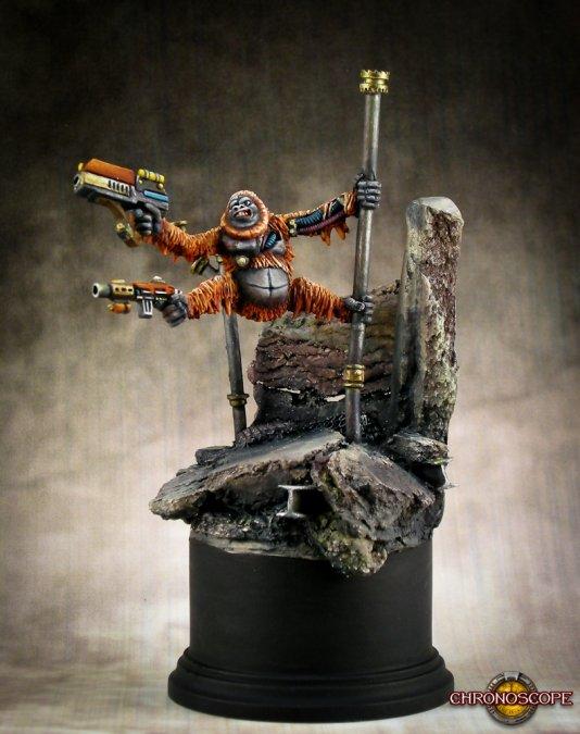 Orangutango, Cyber-Ape 50214 (metal)