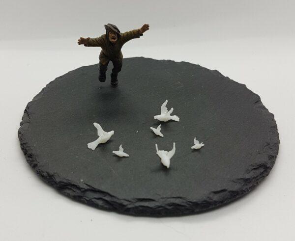 Duiven vogels, birds, (6)