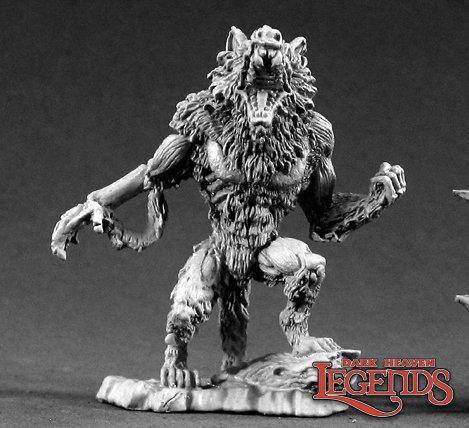 Reaper Miniatures Zombie Werewolf 02132 (metal)