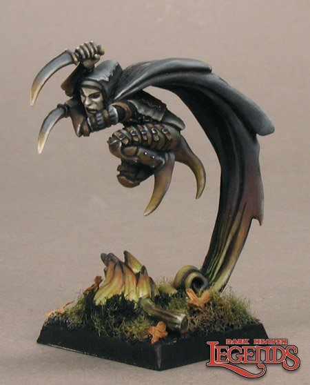 Reaper Miniatures Warl Hellbore, Assassin 02782